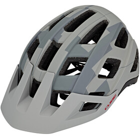 Cube Badger Helm grey camo
